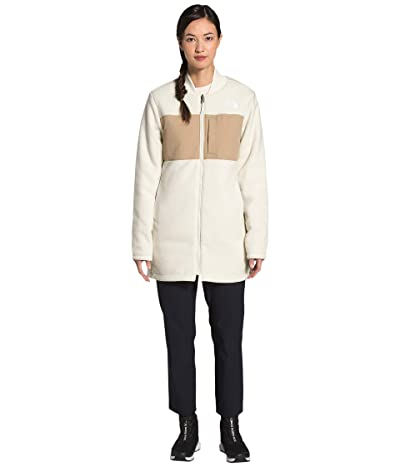 The North Face TNF Reversible Long Fleece Jacket (Vintage White/Hawthorne Khaki) Women