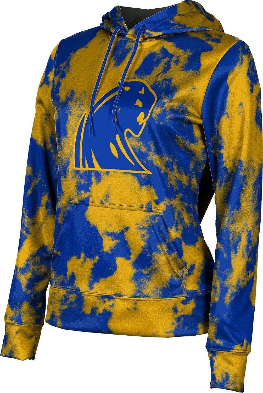 ProSphere Dewitt High School Girls' Pullover Hoodie, School Spirit Sweatshirt (Grunge)