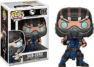 Funko Sub-Zero: Mortal Kombat x POP! Games Vinyl Figure & 1 PET Plastic Graphical Protector Bundle [#251 / 21686 - B]