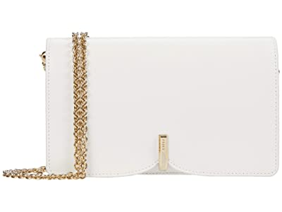 Furla Ribbon Mini Crossbody (Talco) Handbags