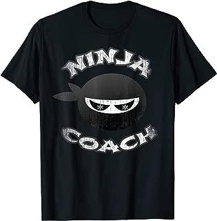 Ninja Coach Multitasking Team Trainer Speaker Motivator Crew T-Shirt