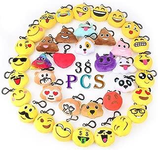 Emoji Keychain Decorations Emoji Party Favors Kids' Toy