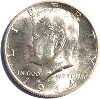 1964 United States of America Kennedy Half Dollar (Silver 90%) #15 Coin Very Good Details