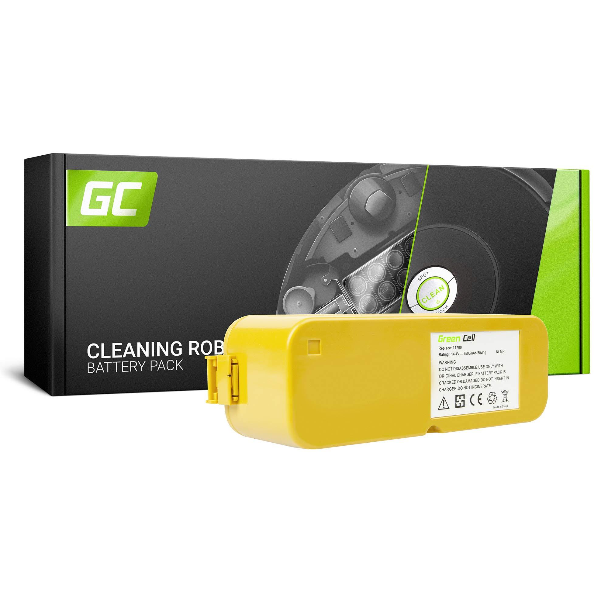 GC® (3.5Ah 14.4V Ni-MH pile) Batería para iRobot Roomba 5210 de Aspirado: Amazon.es: Bricolaje y herramientas