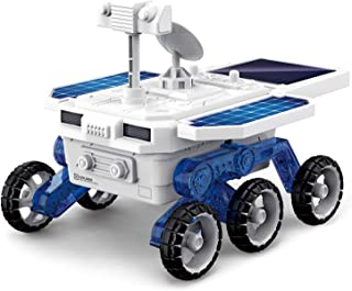 ZAYOR Solar Robot Car Toys Mars Research Vehicle Toys Kit, DIY Science Building STEM Toys Space Mars Rover Experiments Toy...