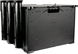Yakattack 12x16x11 BlackPak Kayak Fishing Crate, Black (BLP-121611)