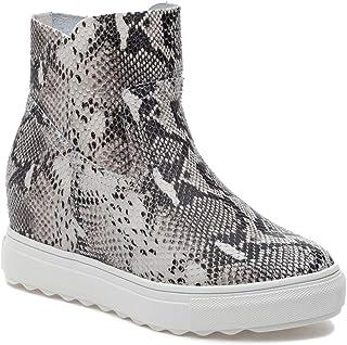 J Slides Posh Leather Sneaker Boot, 7