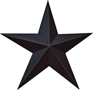 "CWI Gifts Black Barn Star, 36"""