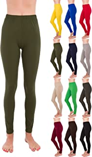 Premium Ultra Soft High Rise Waist Full Length Regular and Plus Size Leggings