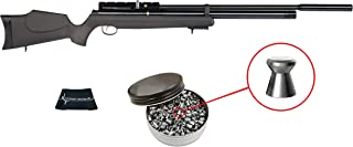 Wearable4U Hatsan AT44-10 Long QE (Quiet Energy) .22/.25 Caliber Air Rifle with Included Pack of Pellets Bundle (Pellets Caliber Depends of Your Choose) Cloth
