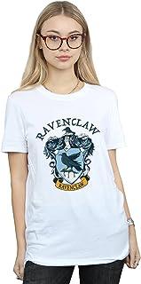 Harry Potter Mujer Ravenclaw Crest Camiseta del Novio Fit
