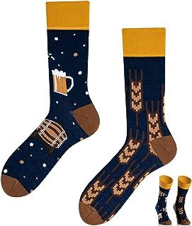 TODO, COLOURS Casual Mix & Match - Calcetines de cerveza fría, multicolor