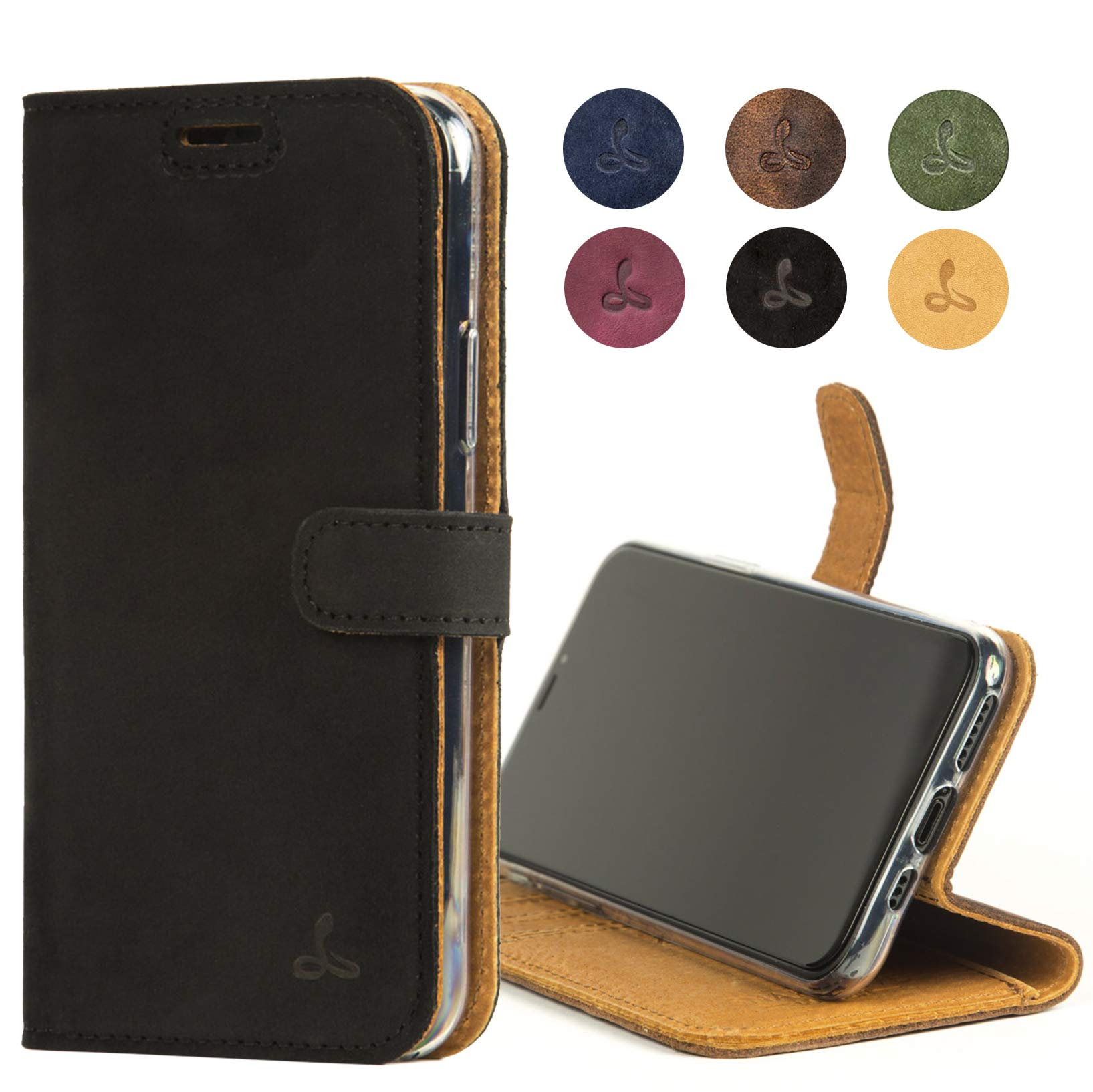 iPhone Leather Genuine Viewing Handmade