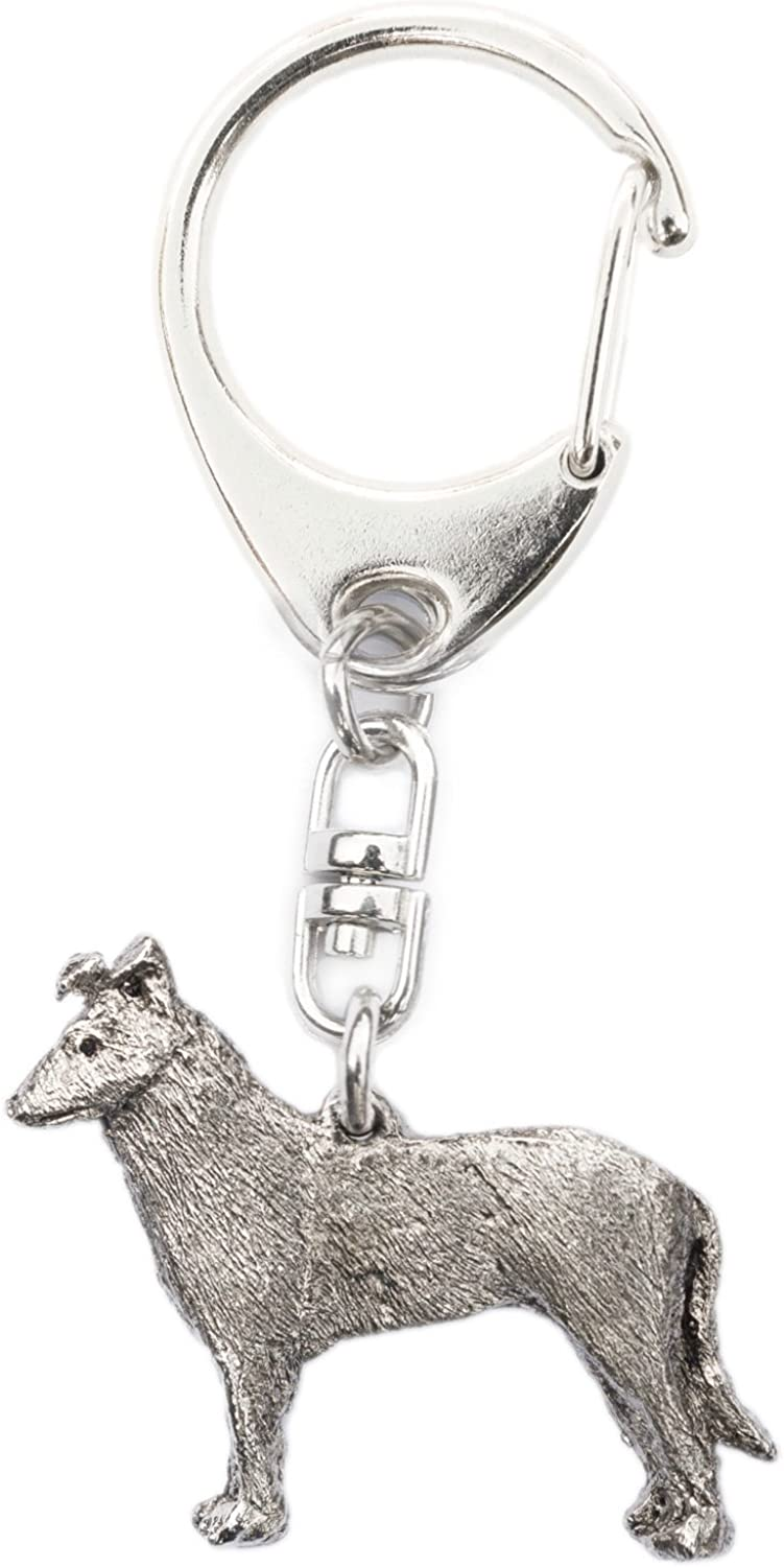 Smooth Collie Made in U.K Artistic Style Dog Key Ring Collection