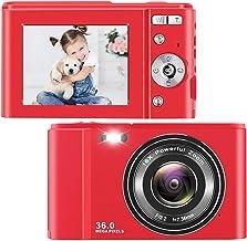 $48 » toberto Digital Camera, 1080P HD Vlogging LCD Mini Camera with 16X Zoom 36MP Digital Point and Shoot Camera Video Camera, ...