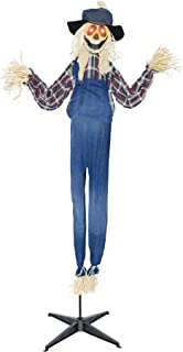 Gemmy (Sun Star) Scary Haunted House Animated Standing Scarecrow Theme Party Halloween Prop