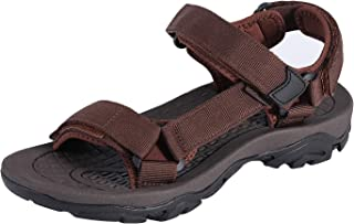 صنادل رياضية للرجال من COLGO صنادل رياضية مريحة كلاسيكية للمشي مع دعم قوس القدم في الهواء الطلق وادي الشاطئ أحذية المياه