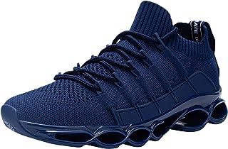 DYKHMATE Uomo Antishock Scarpe da Ginnastica Corsa Sportive Fitness Running Sneakers Basse Interior Casual all'Aperto