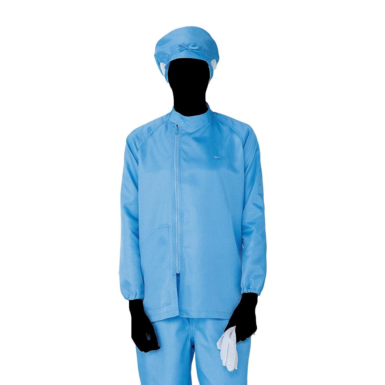 拡張カーテンエリートミドリ安全 クリーンウェア 男女共用 上衣 S3310