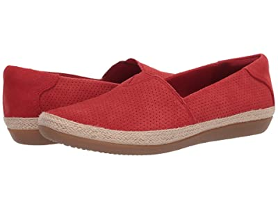 Clarks Danelly Sky (Red Suede) Women