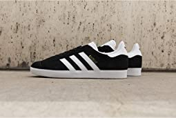 7a046c1229ad adidas Originals. Gazelle Foundation.  80.00. 5Rated 5 stars. Black White  Gold