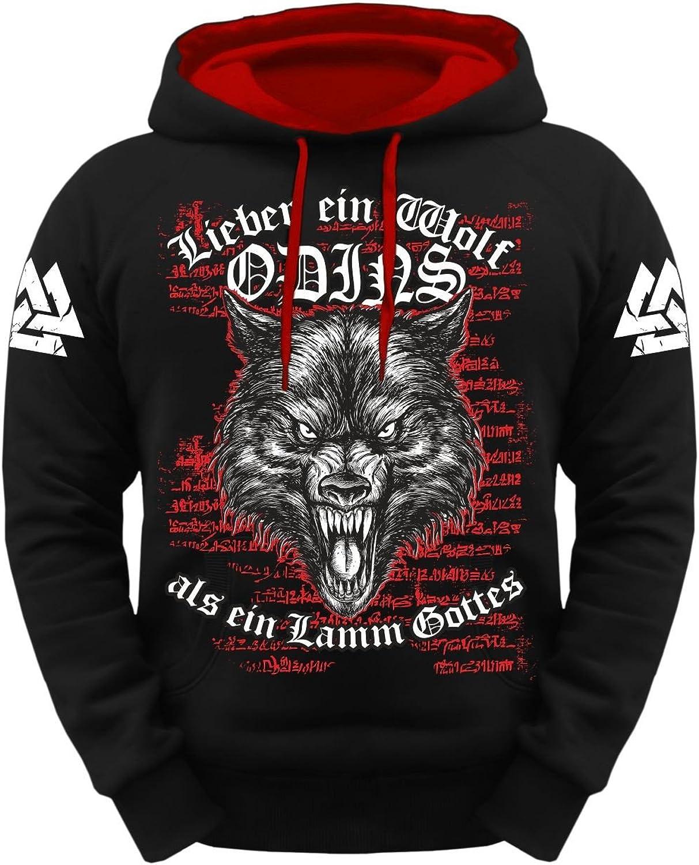 Spaß kostet kostet kostet Männer und Herren Kapuzenpullover Wikinger Wolf Odins B06XXNDGXY  Zu einem erschwinglichen Preis 930ed0