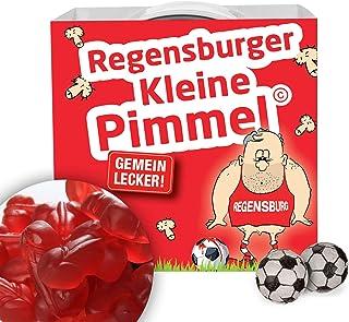 Alles für Regensburg-Fans by Ligakakao.de Regensburger KLEINE PIMMEL   Echt gemein leckere Fruchtgummi für Jahn Regensburg-Fans, inklusive Messlatte zum Lachen & Vergleichen by Ligakakao.de   Für mehr Spaß in der Liga!