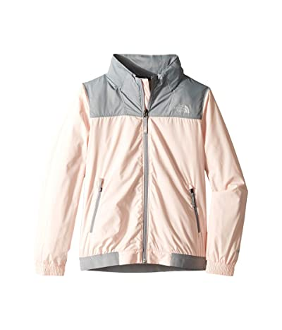 The North Face Kids Windy Crest Jacket (Little Kids/Big Kids) (Pink Salt) Girl