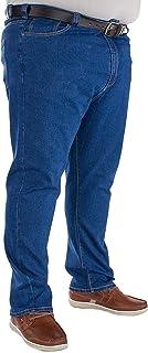 Kam Men's Stretch Jeans Big & Tall King Waist Size Stone Wash
