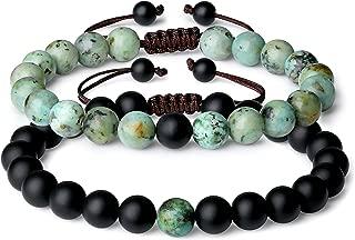 COAI You Complete Me Onyx Stone Matching Couples Bracelets