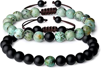 COAI You Complete Me Onyx Stone Matching Couples Bracelets