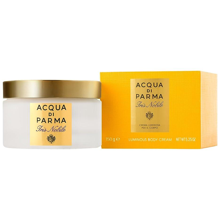 彼女はミサイルフォーラムアクア?ディ?パルマアイリスノビレボディクリーム150ミリリットル (Acqua di Parma) (x6) - Acqua di Parma Iris Nobile Body Cream 150ml (Pack of 6) [並行輸入品]