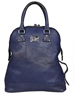 Royal Blue Leather Handbag Handle Tote Handbags & Shoulder Bags For Women Daily Office Use