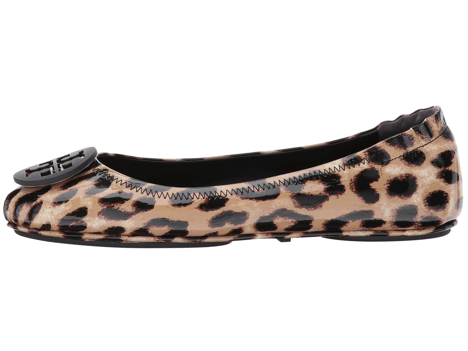 Tory Burch Minnie Travel Ballet Flat At Zappos Com