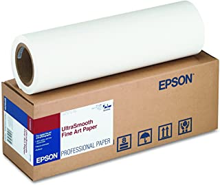 Epson Ultrasmooth Fine Art Paper 17IN By 50FT Roll S041856