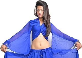Women's ATS Belly Dance Winged Arm Choli Gypsy Top