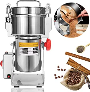 NEWTRY 700g Electric Grain Grinder Spice Mill 2400W Stainless Steel High-speed Food Mill Herb Grinder pulverizer For Chine...