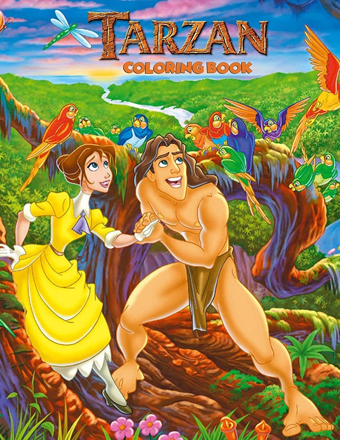 統計的売上高有効なTarzan Coloring Book: Coloring Book for Kids and Adults