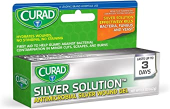 Best curad silver solution antimicrobial gel Reviews