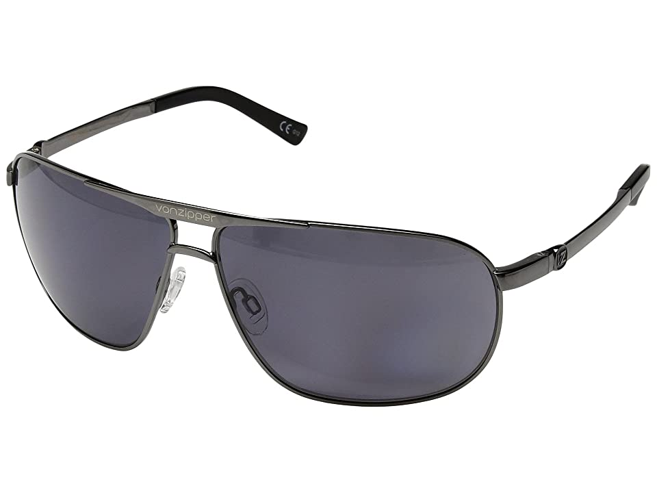 VonZipper Skitch Polar (Charcoal Gloss/Wild Vintage Grey Polar) Sport Sunglasses