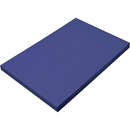 Dark Blue 12 x 18 50 Sheets PACON PAC7307 SunWorks Construction Paper