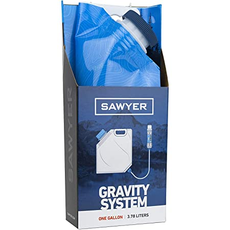 Sawyer Products SP160 One Gallon Gravity Water Filtration System w/Dual-Threaded Mini Filter