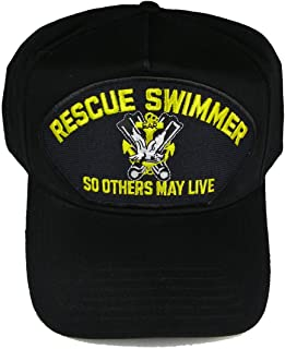 RESCUE SWIMMER So Others May Live SAR HAT - Black Golf Style hat - Veteran Owned Business