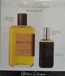 Atelier Cologne Orange Sanguine Absolue Eau De Parfum, 200 ml+30 ml+Leather Case Trv Set
