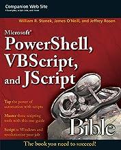 Microsoft PowerShell, VBScript and JScript Bible