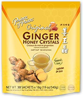 Prince of Peace Instant Ginger Honey Crystals (30ct)