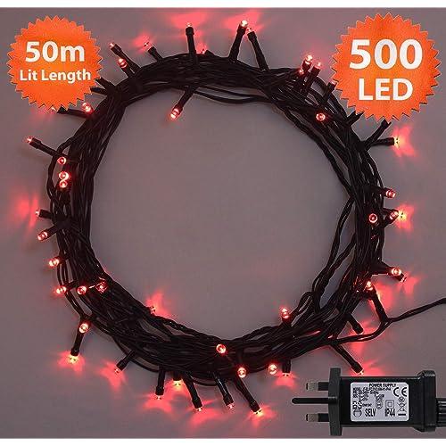 Red Led Christmas Lights Amazon Co Uk