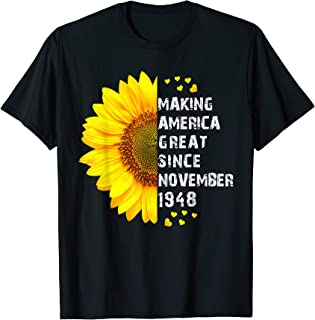 happy 1948 it's my 71th years old birthday gift ideas T-Shirt