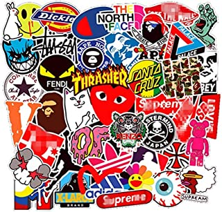 Brand Stickers 101Pcs Vinyl Waterproof Stickers, for Laptop Stickers Motorcycle Bicycle Skateboard Luggage Decal Graffiti Patches Stickers (Stickers - C1)