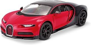 """سيارة بوجاتي تشيرون سبورت """"16"""" باللونين الأحمر والأسود """"إصدار خاص"""" بمقياس 1/24 من مايستو"""